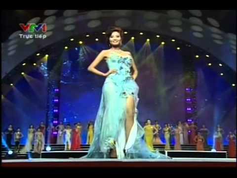 Hoa hậu Việt Nam 2012 - Chung kết - Trang phục tự chọn - Hoa hau Viet Nam 2012