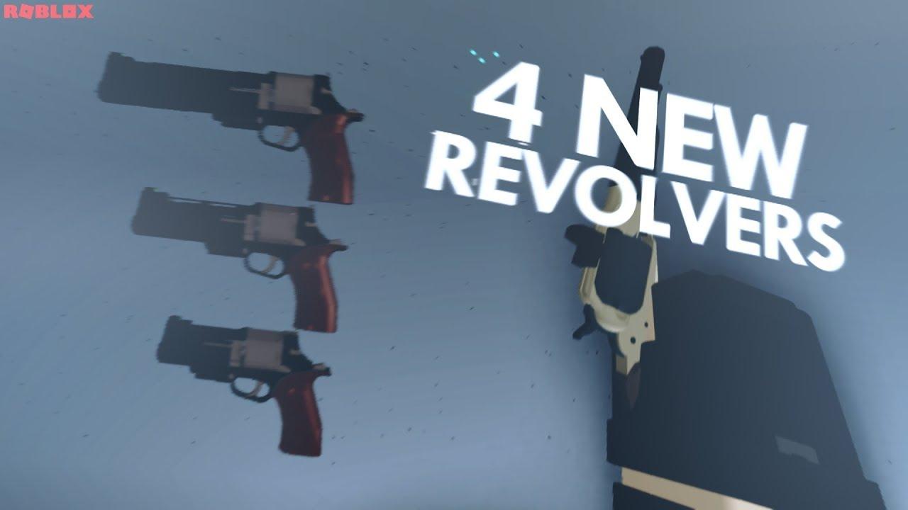 4 NEW GUNS in ROBLOX PHANTOM FORCES! **trickshot**