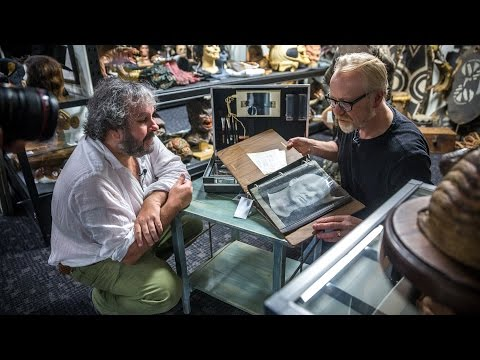 Peter Jackson and Adam Savage Open John Chambers' CIA MakeUp Kit!