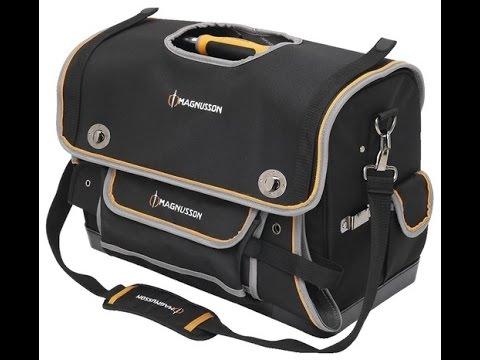 sac outils 50 cm avec rabat magnusson youtube. Black Bedroom Furniture Sets. Home Design Ideas