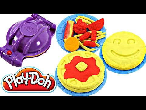 Full download play doh flip n serve breakfast waffles pancakes bacon smoothies play dough - Cocina play doh ...