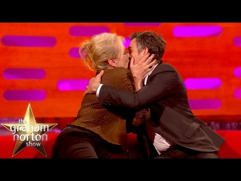 Meryl Streep Kisses Super Smooth Mark Ruffalo  The Graham Norton
