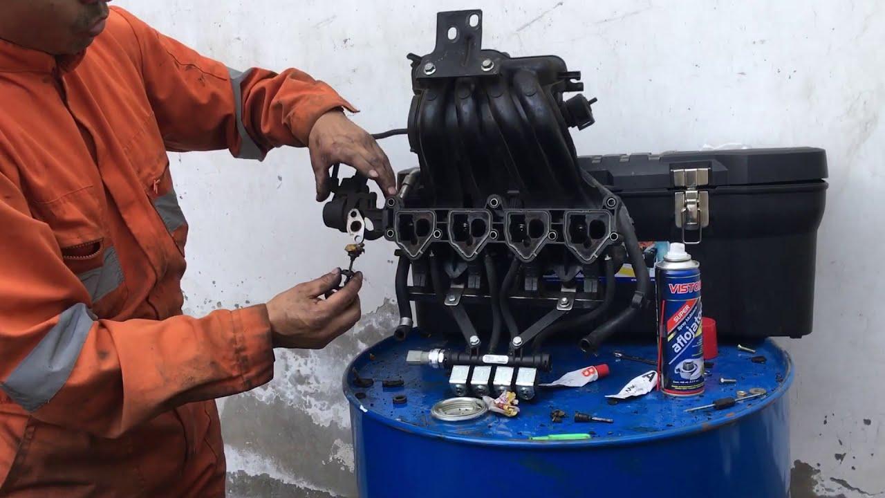 Reparar multiple de admision plastico