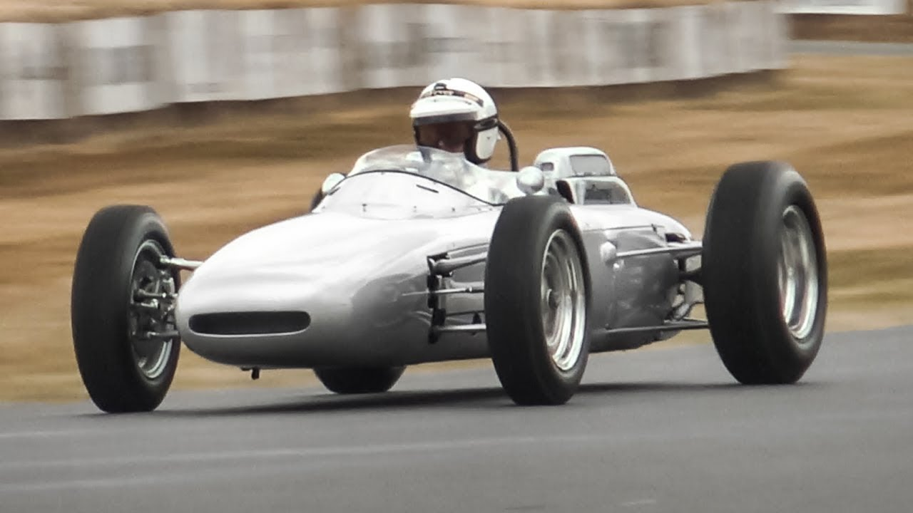 1962 porsche 804 f1 car  1 5-litre flat-8 engine sound