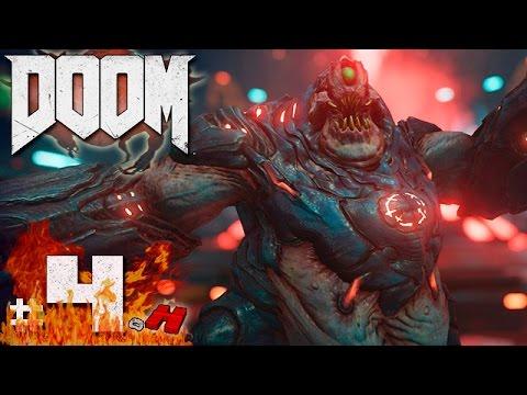 DOOM Gameplay #4 O Portal da Torre Argent [Ultraviolento] (Playstation 4 – PT BR)