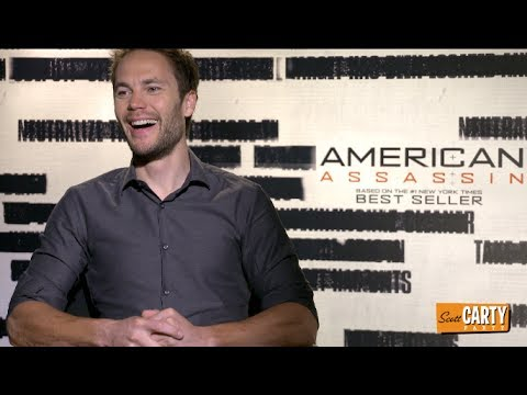 Taylor Kitsch talks fans and social media - AMERICAN ASSASSIN - with Scott Carty