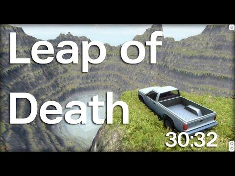 BeamNG Drive - Leap of Death Speedrun (30:32)