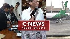 UNTV: C-News (August 09, 2019)