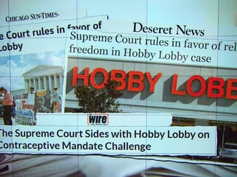 Supreme Court rules for Hobby Lobby in contraceptive case