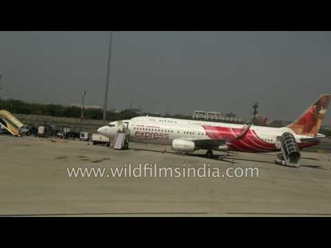 Flight lands at terminal 3 of IGI airport | New Delhi