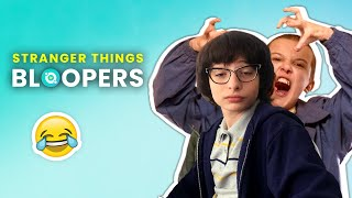 Stranger Things: Bloopers And Funny Moments Revealed |🍿 Ossa Movies