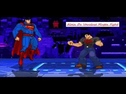 Mugen : Dc Comics : Superman New 52 Vs Superboy (My Battle)