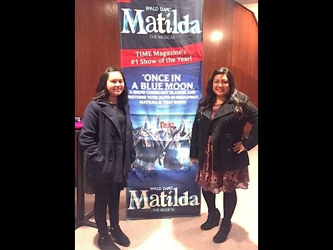 Mother- Daughter Time @ Matilda the Musical- Review