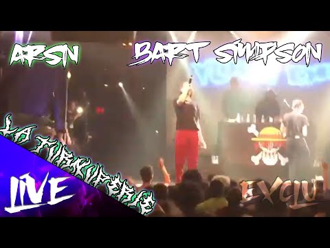 Youtube: ARSN – BART SIMPSON (EXCLU LIVE)