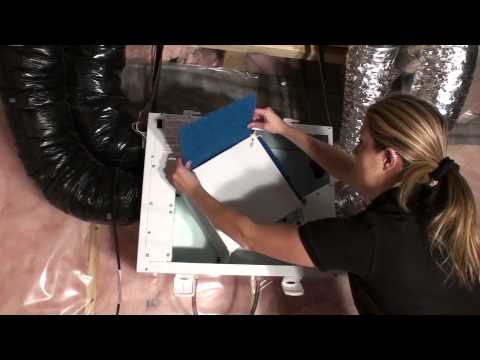 Maintaining Your HRV (Heat Recovery Ventilator)