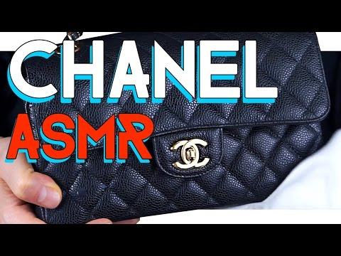 ASMR CHANEL leather and chain cleaning - NO TALKING
