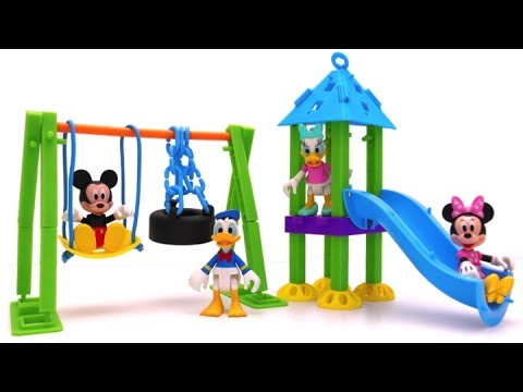 Thumbnail: Playground Building Set for Mickey Mouse & Friends | Slide & Swing Fun for Kids