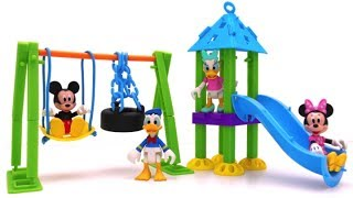 Playground Building Set for Mickey Mouse & Friends | Slide & Swing Fun for Kids