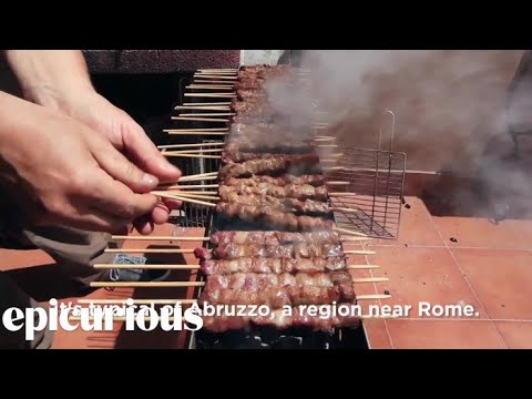 How to Make Arrosticini -- Grilling Around The World, Italy Edition