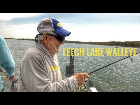 Long Lining Jigs for Leech Lake Walleye