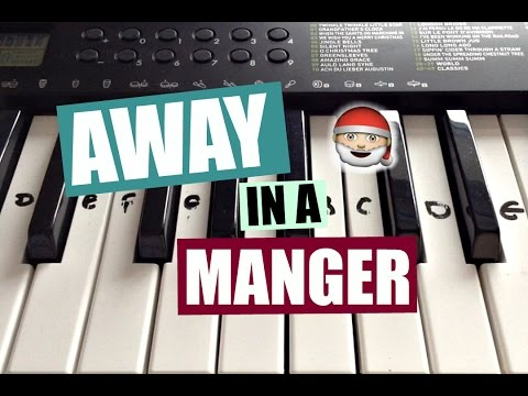 Away In A Manger | Easy Christmas Piano Tutorial (With Notes)
