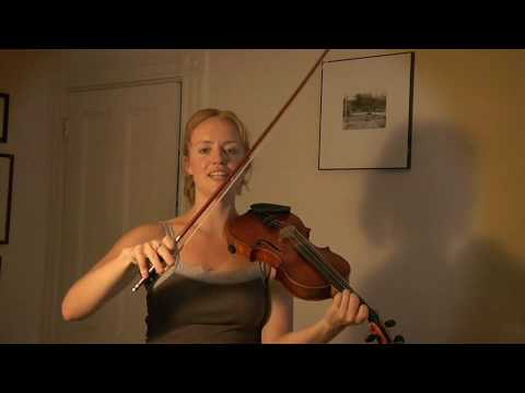 Hanneke Cassel: playing Strathspeys and a newly composed reel