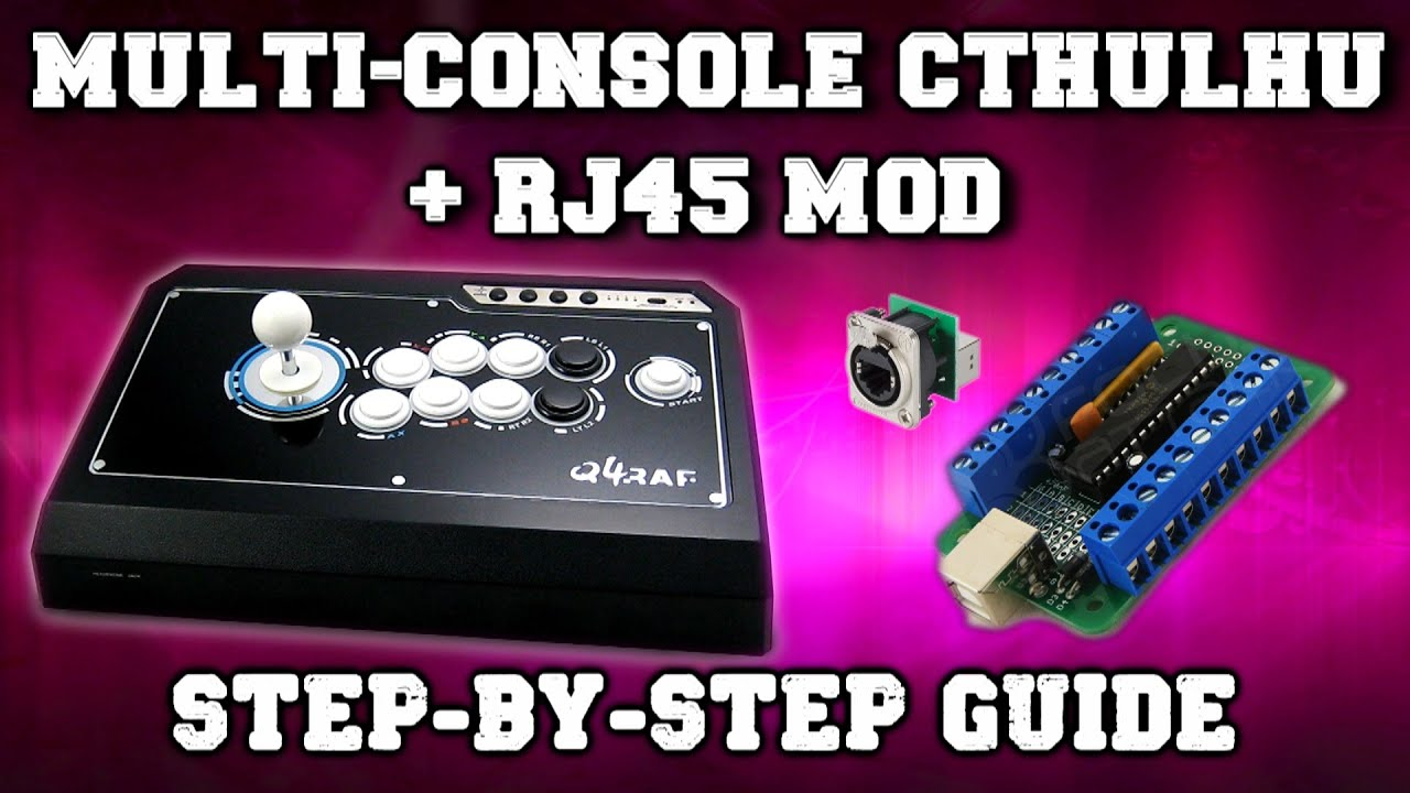 Mc Cthulhu Rj45 Mod Tutorial Youtube Wiring Diagram And Pin Counting