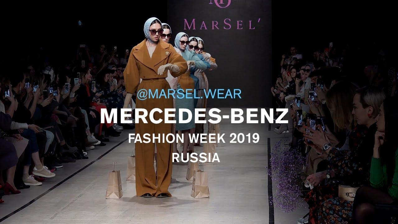 Mercedes-Benz Fashion week Russia 2019. MARSEL WEAR.