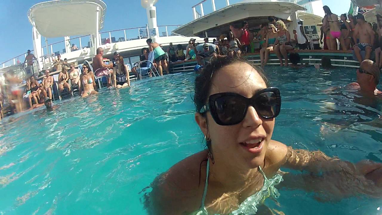 College Pool Party - YouTube