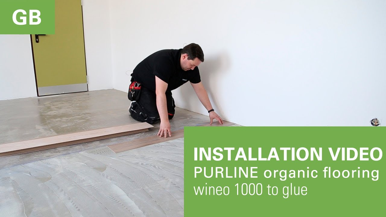 Installation video laying instrction wineo 1000 to glue from wineo installation video laying instrction wineo 1000 to glue from wineo solutioingenieria Images