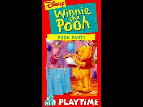 Opening To Winnie The Pooh Party 1997 VHS