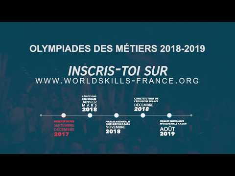Inscriptions aux 45es Olympiades des Métiers