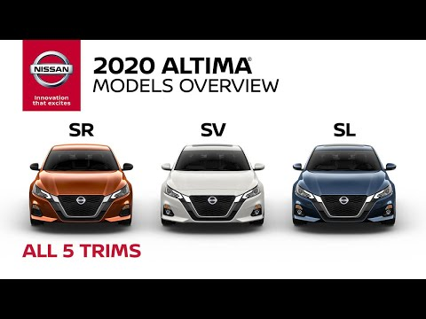 2020 Nissan Altima Sedan Walkaround & Review