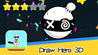 Draw Hero 3D Puzzle Game Walkthrough Solve quests & save the world Recommend index three stars