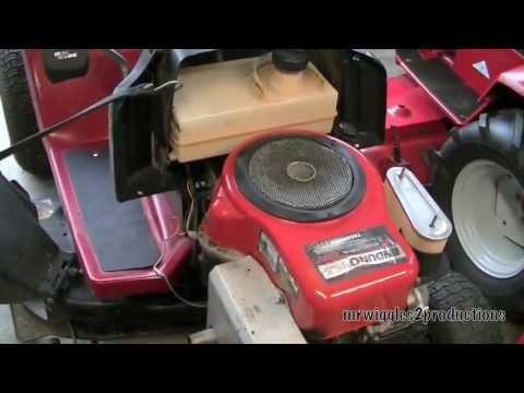 Видео Tecumseh repair manual 155 howitzer