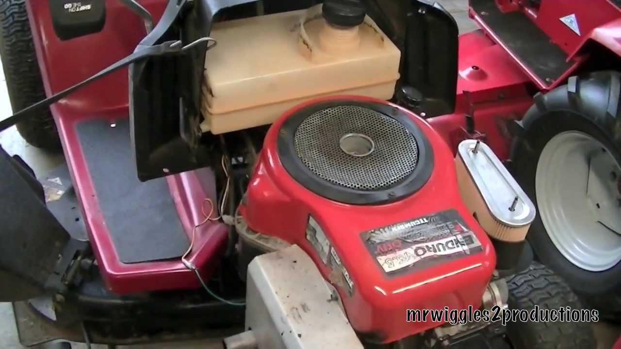 dynamark 15 5 hp tecumseh [ 1280 x 720 Pixel ]