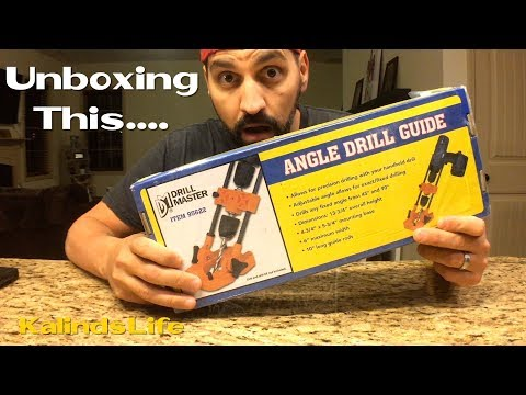 Unboxing and Review of the Angle Drill Guide / Press from Harbor Freight Tools!