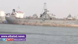 غلق بوغاز ميناء دمياط لحين تحسن الأحوال الجوية..فيديو