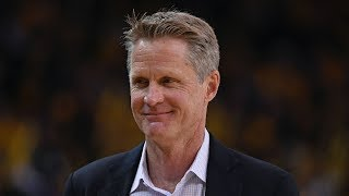 WARRIORS: Steve Kerr and Bob Myers end-of-season press conference