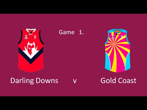 Under14s   Darling Downs v Gold Coast