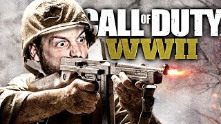 CONSOLE PLAYER TRIES PC | Call Of Duty World War 2 PC Gameplay [Team Deathmatch]