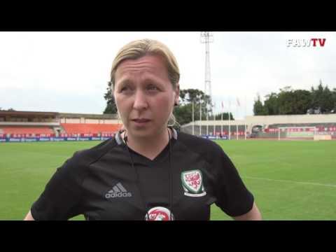 PORTUGAL 1 - 2 WALES   Jayne Ludlow Reaction