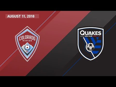 HIGHLIGHTS: Colorado Rapids 2-1 San Jose Earthquakes
