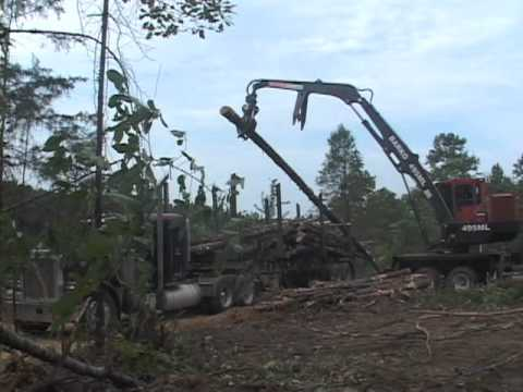 pull through delimbers in Forestry and Logging