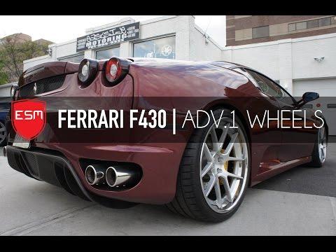 Eastside Motoring Ferrari F430 | ADV1 Wheels
