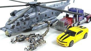 Transformers Movie 1 Oversized Blackout Scorponok Optimus Prime Bumblebee Vehicle Car Robot Toys