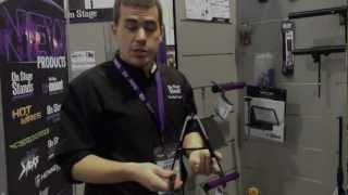 Kraft Music - On Stage Mighty Uke Compact Ukulele Stand Namm 2013