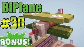 видео: Minecraft - как построить BiPlane? (Bonus #30)