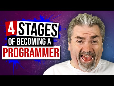 Four Stages of Becoming a Programmer | Programming Tip of the Day – Tim Buchalka