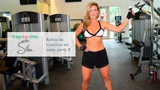 Rutina de ejercicios en casa con Silu Scheffer y Gabe Dela Garza: parte 2